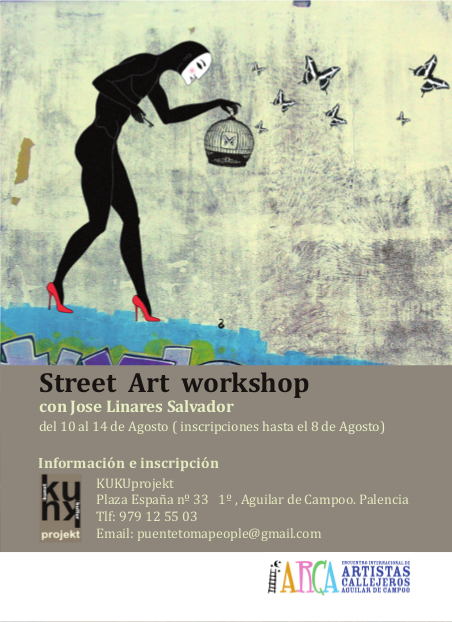 street art  workshop - cartel A6