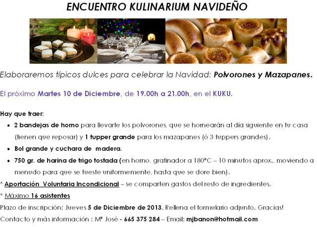 ENCUENTRO KULINARIUM NAVIDEÑO_Dic13