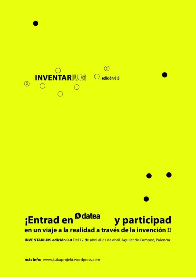 INVENTARIUM - cartel
