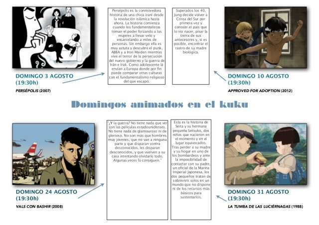 Domingos animados en el Kuku
